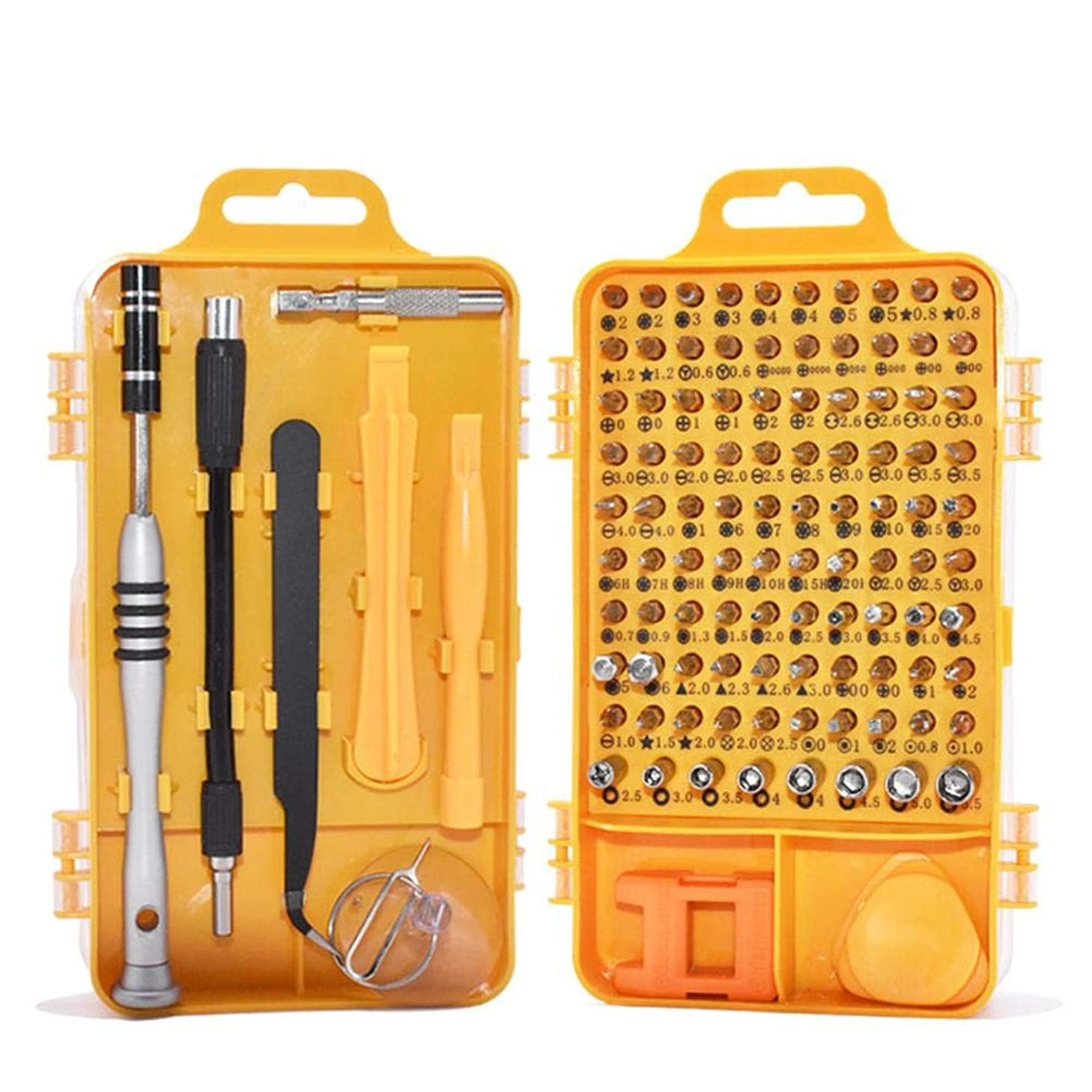 Cowmole Co. Screwdriver Set 110 in 1 Sets Multi-function Computer PC Mobile Phone Cellphone Digital Electronic Device Repair Home Tools Bit