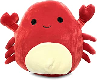 Squishmallows Official Kellytoy Carlos The Red Crab Squishy Stuffed Soft Plush Toy Animal (12 Inch)