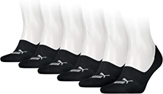 Puma Sports Socks Unisex Invisible Footies (6 Pair Pack)