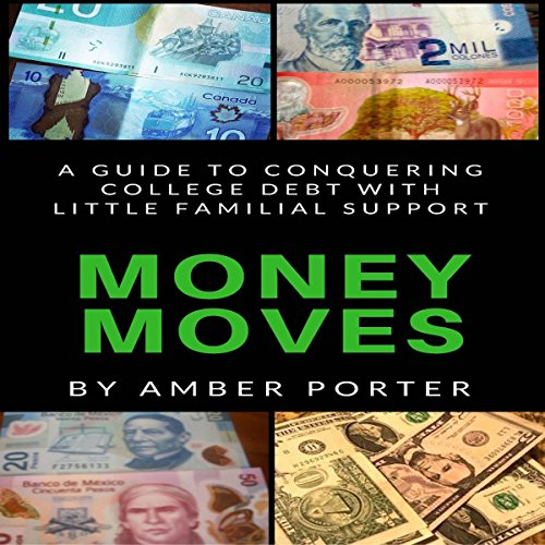 Money Moves: A Guide to Conquering College Debt with Little Familial Support audiobook cover art