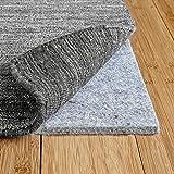 RUGPADUSA - Basics - 8'x10' - 3/8' Thick - 100% Felt - Protective Cushioning Rug Pad - Safe for All Floors and Finishes including Hardwoods