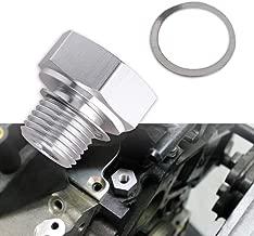 Tutor Auto Oil Pressure Sensor Adapter Fittings with Male M16 × 1.5 Adapter Female 1/8 NPT for GM LS1 LSX LS3 LM7 LR4 LQ4 LS6 L98 L9H L20 L94 Replace 551172