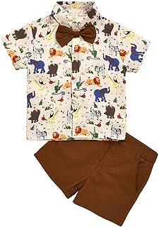 sunnymi - Conjunto de ropa para niños de 0 a 5 años de edad