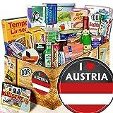 I love Austria - Geschenkpaket Österreich - DDR Spezialitäten Box