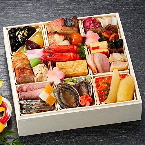 京都 しょうざん 冷蔵おせち料理 2021 一段重 春栄 33品 盛り付け済み 冷蔵おせち 約2人前 お届け日:12月31日