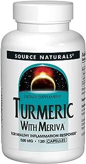 Turmeric with Meriva 500mg For Healthy Inflammatory Response - 120 Capsules