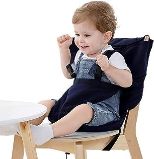 Vine Chaise Haute de Voyage Portable Easy Seat | Rehausseur Chaise Enfant,Housse de..