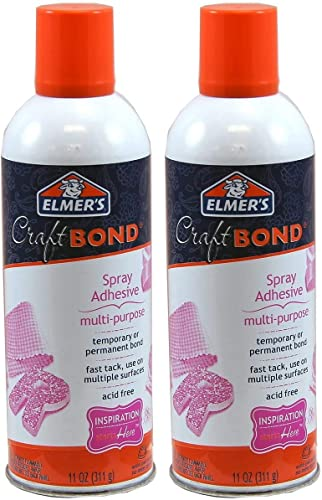 discount Elmer's Craftbond Multi-Purpose Spray discount Adhesive, 11 oz, sale White,Packaging May Vary - 2 Pack outlet online sale