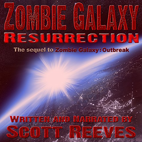 Zombie Galaxy: Resurrection audiobook cover art