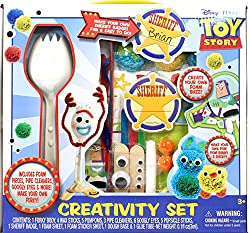 Toy Story 4 Make your own Forky craft toy