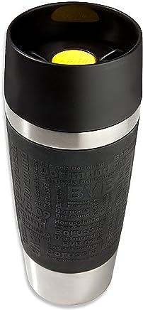Preisvergleich für BVB 09 Borussia Dortmund Coffee to go Becher 0,36 l aus Edelstahl Kaffeebecher 14704000