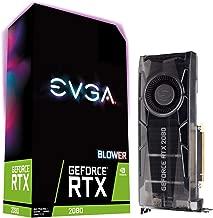 EVGA GeForce RTX 2080 GAMING 8GB GDDR6, RGB LED Graphics Card 08G-P4-2080-KR