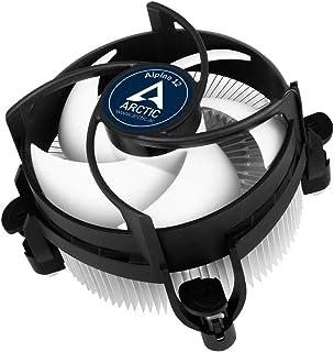 ARCTIC Alpine 12 - Refroidisseur de processeur pour socle Intel, capacité de refroidissement jusqu'à 95 W grâce à un venti...