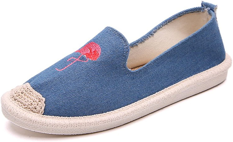 Super frist Espadrille Womens Comfort Flats Slip-ONS shoes with Imprint Comfort Technology