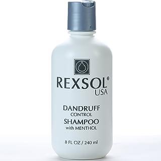 Rexsol Dandruff Control All Hair Unisex Shampoo with Menthol, 240 ml, White