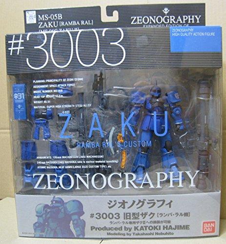 ZEONOGRAPHY #3003 Zaku Ramba Ral