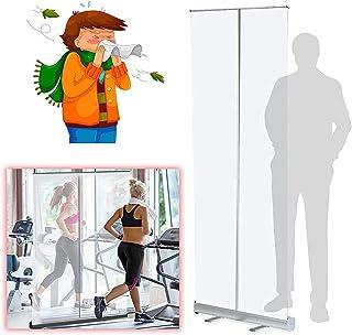 TOPNIU Écran d'hygiène transparente de la protection éternuante, protection anti-film clair Protection anti-broche, écran ...