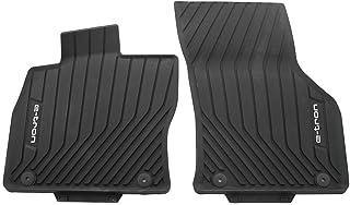 Audi 8V1061221A041 Fußmatten Allwetterfußmatten vorn 2X Gummimatten schwarz, mit e tron Schriftzug