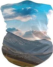 PINLLG Natuur Bergwolken Landschap Bandana met Filter Gezicht Cover Wasbare Hoofdband voor Stof Sport Magische Sjaal Hals ...