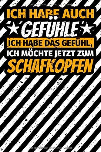 Notizbuch liniert: Schafkopf Geschenke lustiger Spruch Kartenspiel