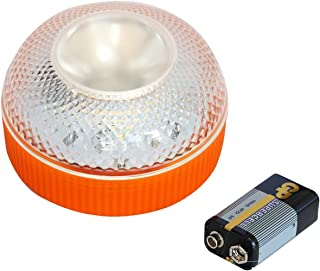 CAILING Alta Luminancia Luz Magnética Led, Luz de Emergencia, Señal V16 de Preseñalización de Peligro Homologada y Lintern...
