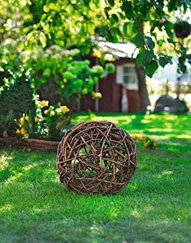 Garten Deko-Kugel aus Rebenholz, Ø 40 cm, Gartenkugel, Dekokugel