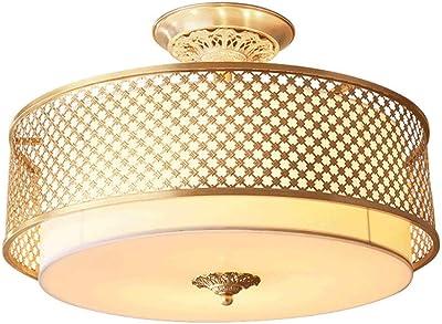 Lámpara De Techo Lámpara De Cobre Lámpara Led Lámpara De ...