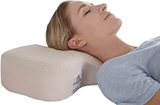 Dual Plus Ergonomic Pillow - Durable Orthopedic Pillow - Cervical Pillow Supports Curve of Cervical Spine - Stable Neck Support Pillow - Pillow for Neck Pain - Recommended Neck Pillow for Sleeping