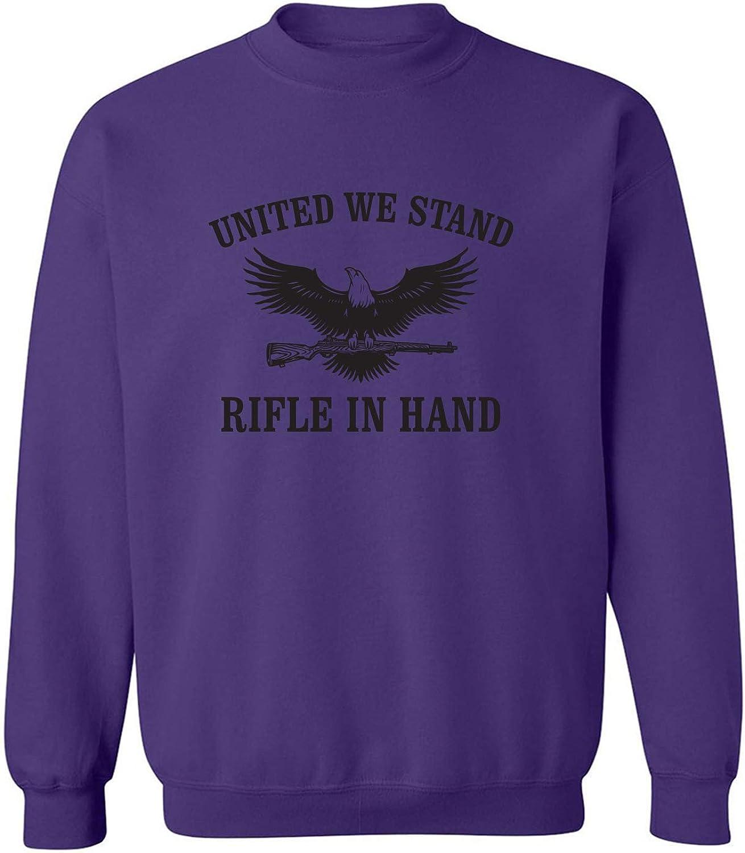 United We Stand Rifle In Hand Crewneck Sweatshirt