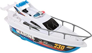 Deror Electric Boat Toy,Electric Speed Boat Toy Model Bathing Swimming Pool Boat Toy for Children