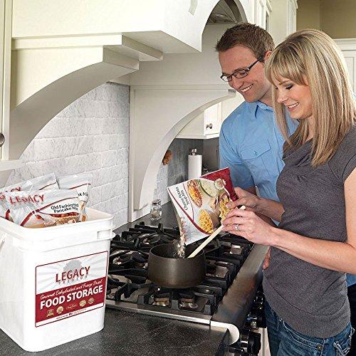Legacy 60 Serving Food Storage