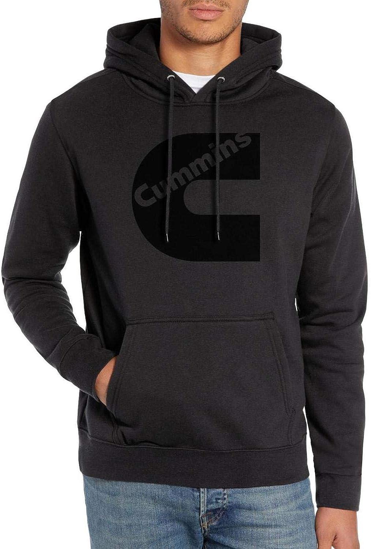Fleece Hoodies Men Women Novelty Sweatshirts Cummins-Black-Logo