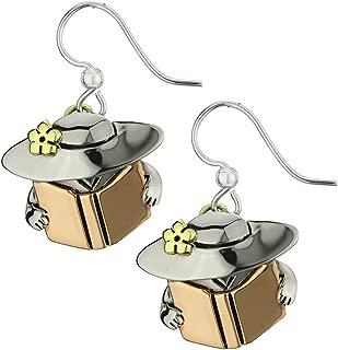 Book Lady Earrings