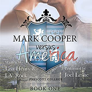 Mark Cooper Versus America audiobook cover art