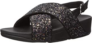 FitFlop Women's LULU Glitter Back-Strap Sandals