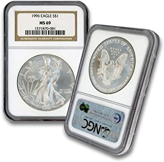 Best 1996 silver eagle ngc Reviews