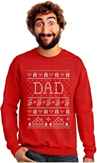 Funny Gift for Dad Dad's Ugly Christmas Sweater Sweatshirt