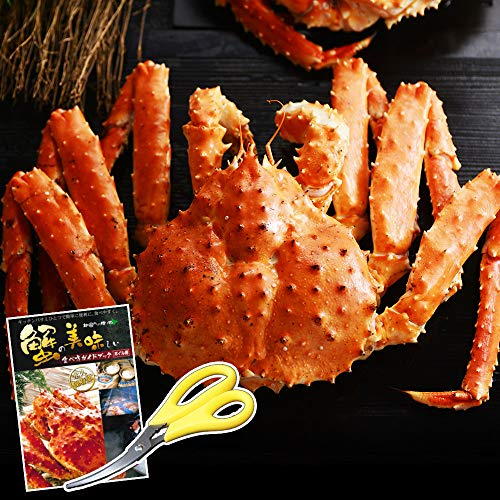 タラバガニ 姿 特大 天然 ボイル 本 たらば 蟹 1kg 1尾 かに 北国からの贈り物
