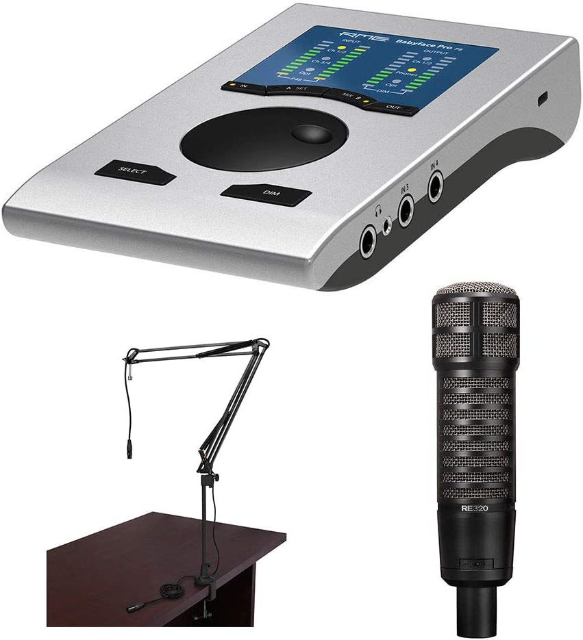 Mesa Mall Recommendation RME Babyface Pro FS 24-Channel with Interface Audio Electro-Voic
