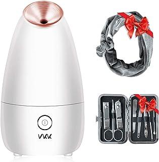 Vaporizador Facial VKK Abre los Poros de La CaraHerramienta de Cuidado Personal Para La Piel Sauna y Spa Facial (Incluye...