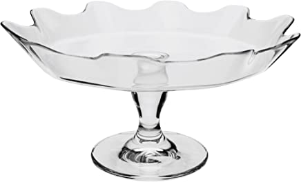 Preisvergleich für Dajar Tortenplatte Pasabahce, Glas, Transparent, 32 x 32 x 15 cm