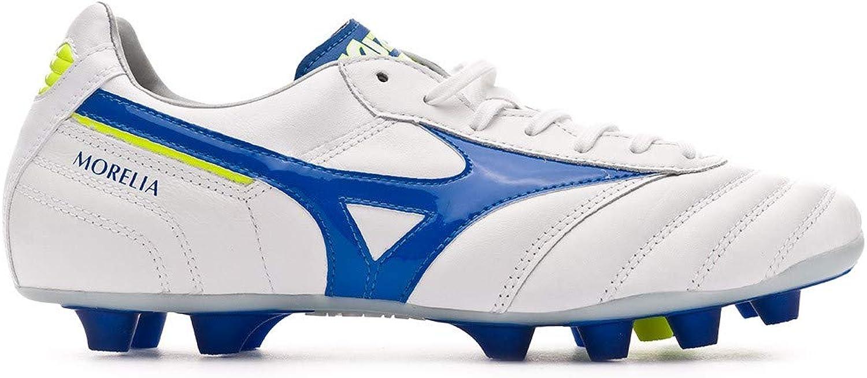 Mizuno Morelia II MD - Soccer shoes - P1GA190419 (42.5) White