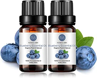2-Pack Blueberry Essential Oil 100% Pure Oganic Plant Natrual Flower Essential Oil for Diffuser Message Skin Care Sleep - ...