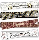 Logbuch-Verlag 20 pegatinas de regalo largas de 5 x 42 cm – Paquete de pegatinas para paquetes de cinta – cumpleaños felicitaciones