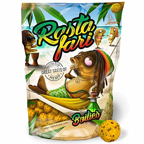 Radical Rastafari Boilie Ø20mm 1kg, 20 mm