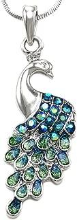 Best peacock pendant necklace Reviews