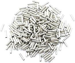 20 pièces sans couture métal lacets conseils tête remplacement réparation Aglets bricolage baskets argent or couleurs chau...