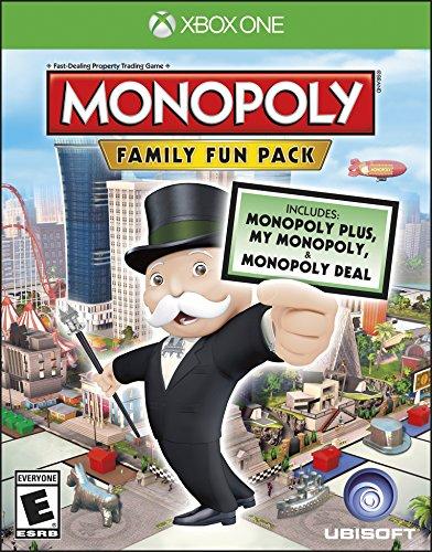Ubisoft Monopoly Family Fun Pack, Xbox One - Juego (Xbox One, Xbox One, Familia, E (para todos))