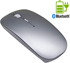 Quiet Wireless Bluetooth Mouse Rechargeable - Tsmine Mini Gaming Mouse Computer Mouse with 3 Adjustable DPI Level (800DPI,1200DPI,1600DPI),Compatible with PC, Mac, Desktop and Laptop