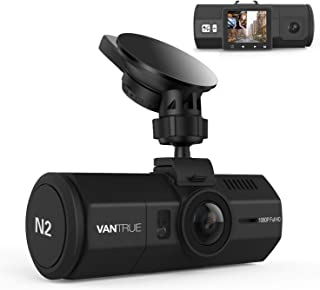 "Vantrue N2 Dual Lens KFZ Dashcam Dual 1080P Full HD Auto Kamera Vorne Hinten, Car Camera Nahe 360° Parküberwachung Autokamera Dash Cam, 1.5"" HDR Nachtsicht Auto Camea G Sensor, Daueraufnahme für Taxi"